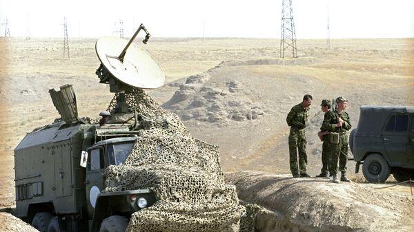 Ռուս սահմանապահների կողմից հսկվող տաջիկա-աֆղանական սահմանի հատված - Sputnik Արմենիա