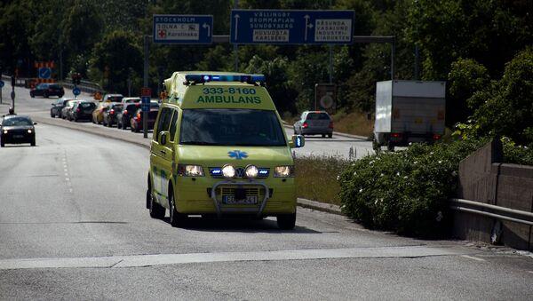 Автомобиль скорой помощи в Швеции - Sputnik Армения