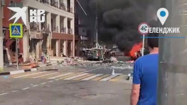 Взрыв бытового газа в гостинице Геленджика - Sputnik Արմենիա