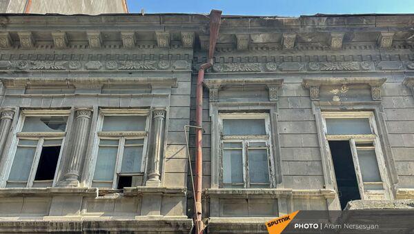 Старое здание на снос на улице Анрапетутян - Sputnik Արմենիա