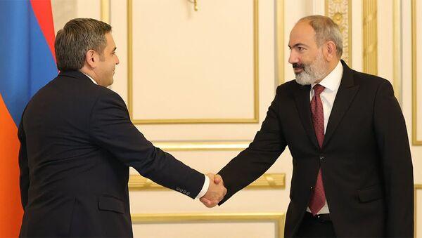 Նիկոլ Փաշինյանը հանդիպել է ՀՖՖ նախագահին - Sputnik Արմենիա