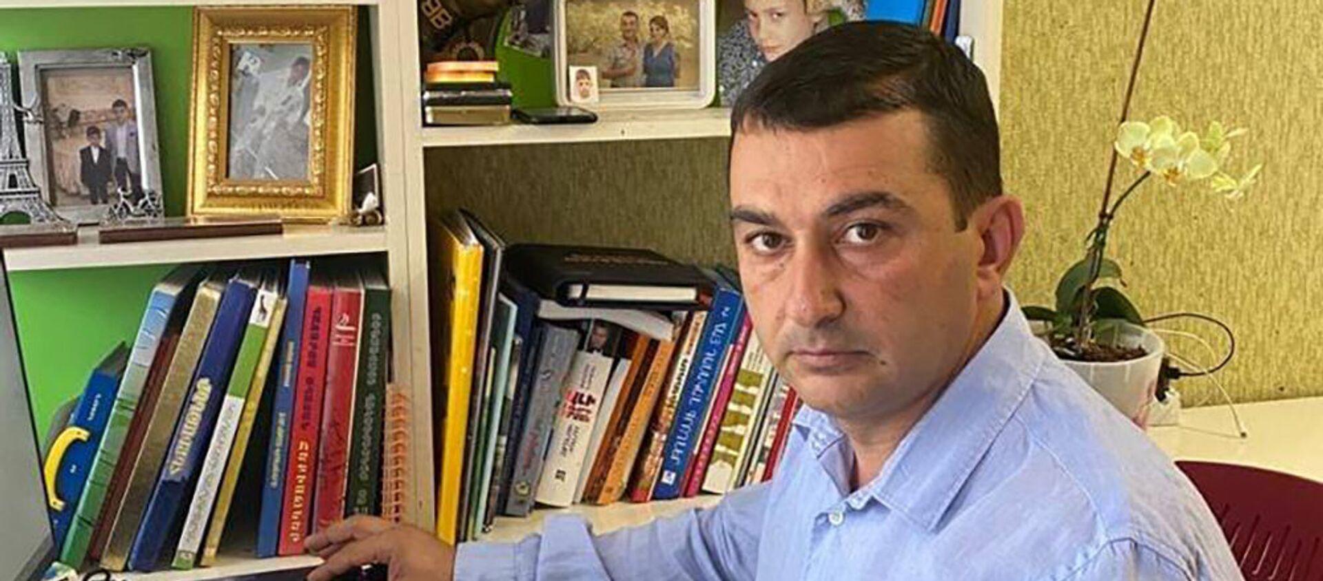 Врио главы администации Мегри Арарат Туманян - Sputnik Армения, 1920, 14.07.2021