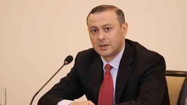 Новоназначенный первый заместительститель министра ИД Армен Григорян - Sputnik Армения