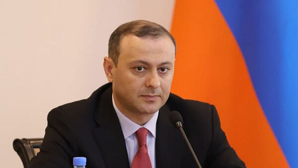 Новоназначенный первый заместительститель министра ИД Армен Григорян - Sputnik Արմենիա