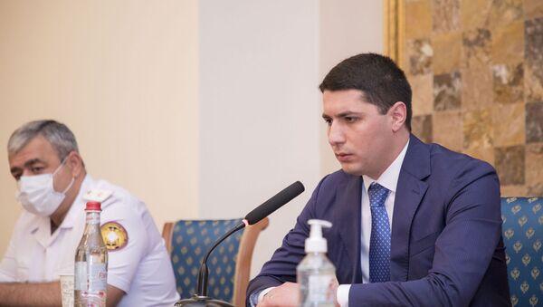 Аргишти Кярамян, назначенный председателем СК Армении, провел первую консультацию (14 июля 2021). Еревaн - Sputnik Արմենիա