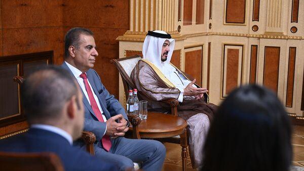 Президент Армен Саркисян принял руководителей Air Arabia (14 июля 2021). Еревaн - Sputnik Армения