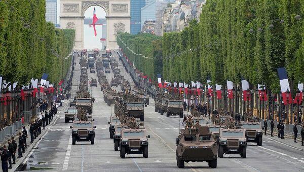 Парад в честь Дня взятия Бастилии  (14 июля 2021). Париж - Sputnik Արմենիա