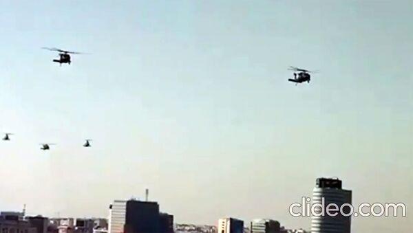 Военный вертолет ВВС США Black Hawk совершил вынужденную посадку в центре румынской столицы - Sputnik Արմենիա