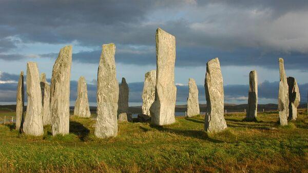 Комплекс древних мегалитов Калланиш в Шотландии - Sputnik Армения
