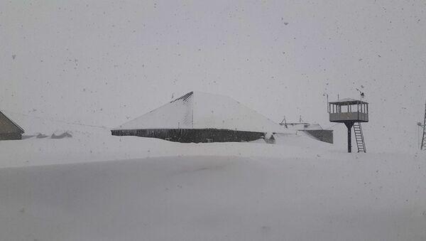 Наблюдательная станция Ереванского Института физики на  горе Арагац - Sputnik Армения