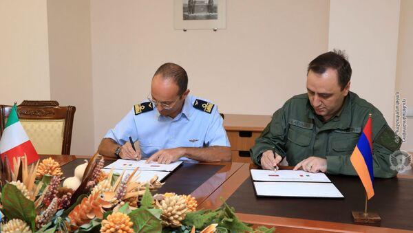 Армяно-итальянские двусторонние военно-политические консультации - Sputnik Արմենիա