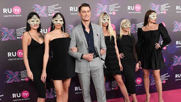 Давид Манукян (Дава) на X Русской музыкальной премии телеканала RU.TV - Sputnik Արմենիա