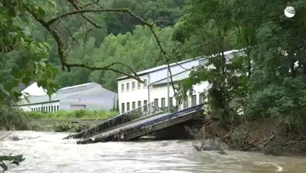 Последствия наводнений в Германии - Sputnik Արմենիա