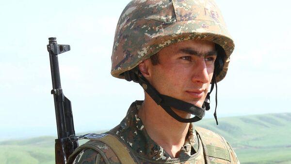 Артур Агасян, посмертно награжденный званием Герой Арцаха - Sputnik Армения