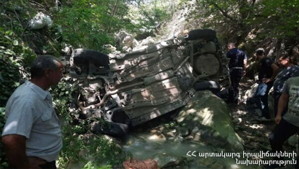 ДТП на автотрассе Алаверди - Ахтала - Sputnik Армения