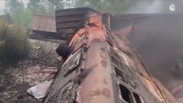 Столкновение поездов в Приамурье - Sputnik Армения