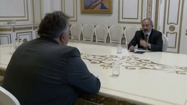 Հանդիպում Նուբար Աֆեյանի հետ։ - Sputnik Արմենիա