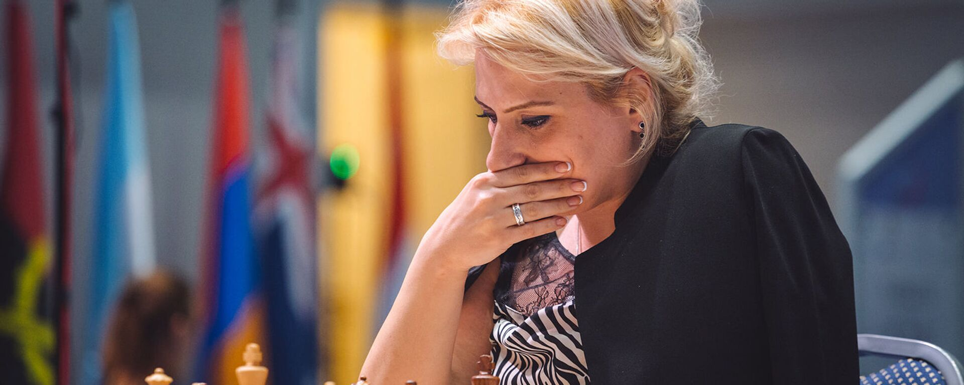 Элина Даниелян на Чемпионате мира по шахматам в Сочи - Sputnik Արմենիա, 1920, 12.08.2021