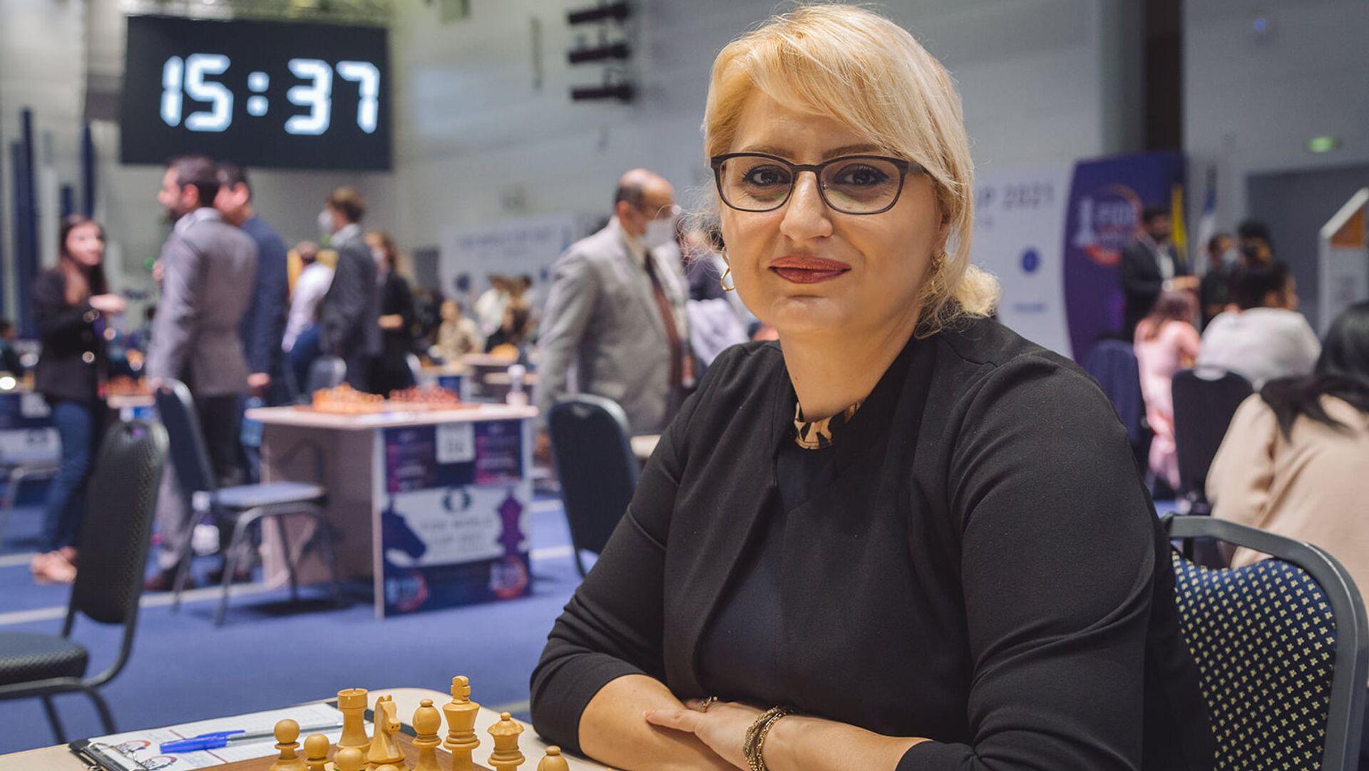 Элина Даниелян на Чемпионате мира по шахматам в Сочи - Sputnik Армения, 1920, 27.09.2021