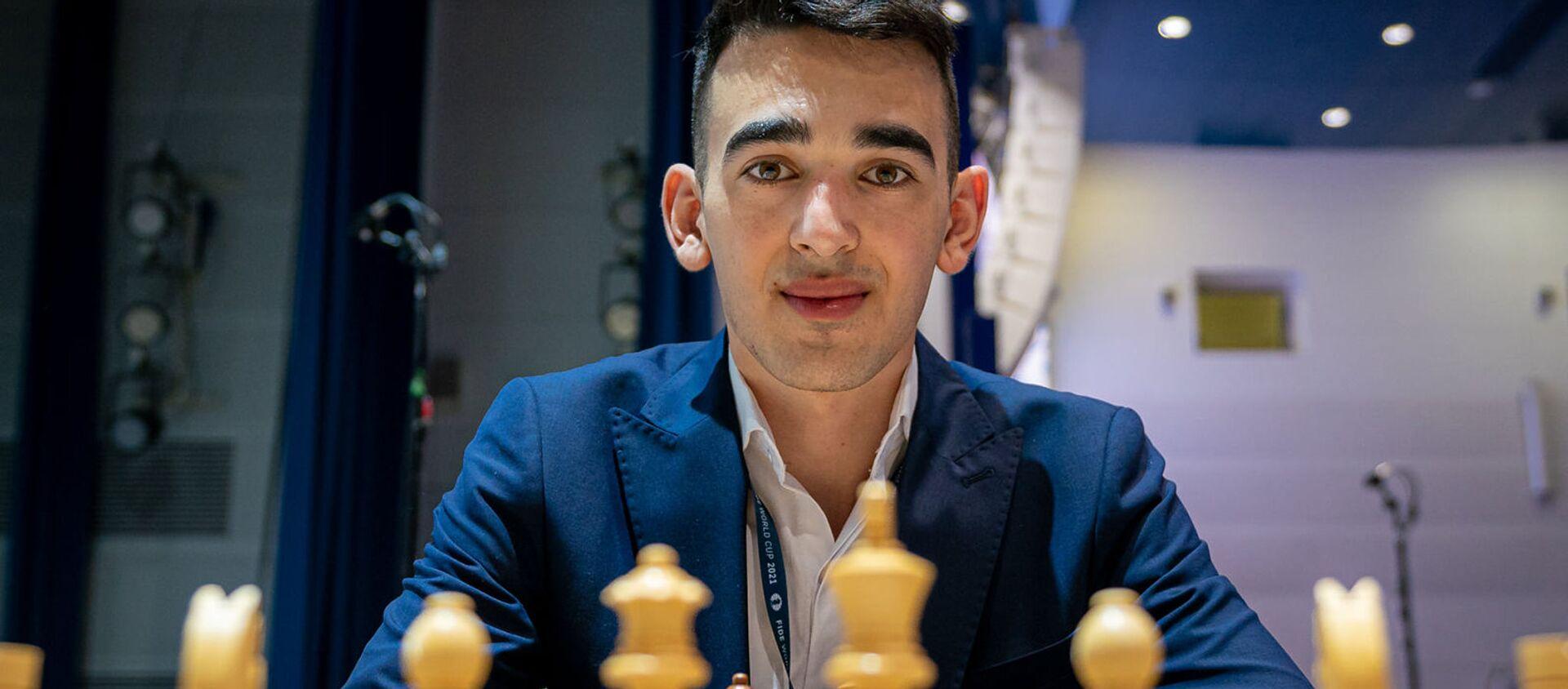 Айк Мартиросян на Чемпионате мира по шахматам в Сочи - Sputnik Արմենիա, 1920, 21.07.2021