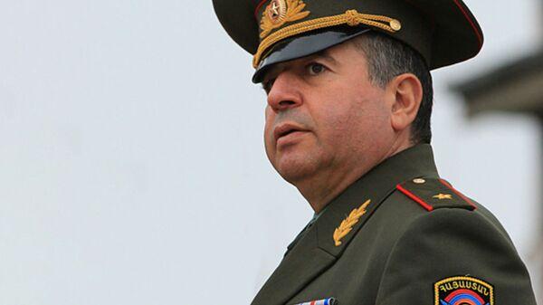 Первый заместитель начальника Генштаба Аршак Карапетян - Sputnik Армения