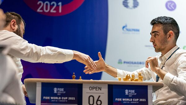 Айк Мартиросян на тай-брейке обыграл сильнейшего шахматиста Азербайджана Шахрияра Мамедъярова - Sputnik Արմենիա
