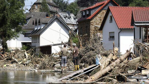 Последствия наводнения в Германии - Sputnik Армения