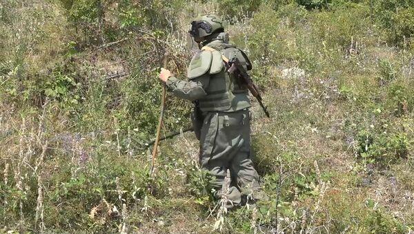 Российские миротворцы в Нагорном Карабахе очистили сельскохозяйственные поля от «Ураганов» - Sputnik Армения
