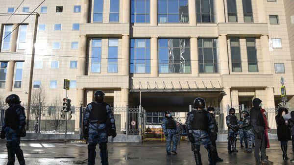 Ситуация у здания Мосгорсуда - Sputnik Армения