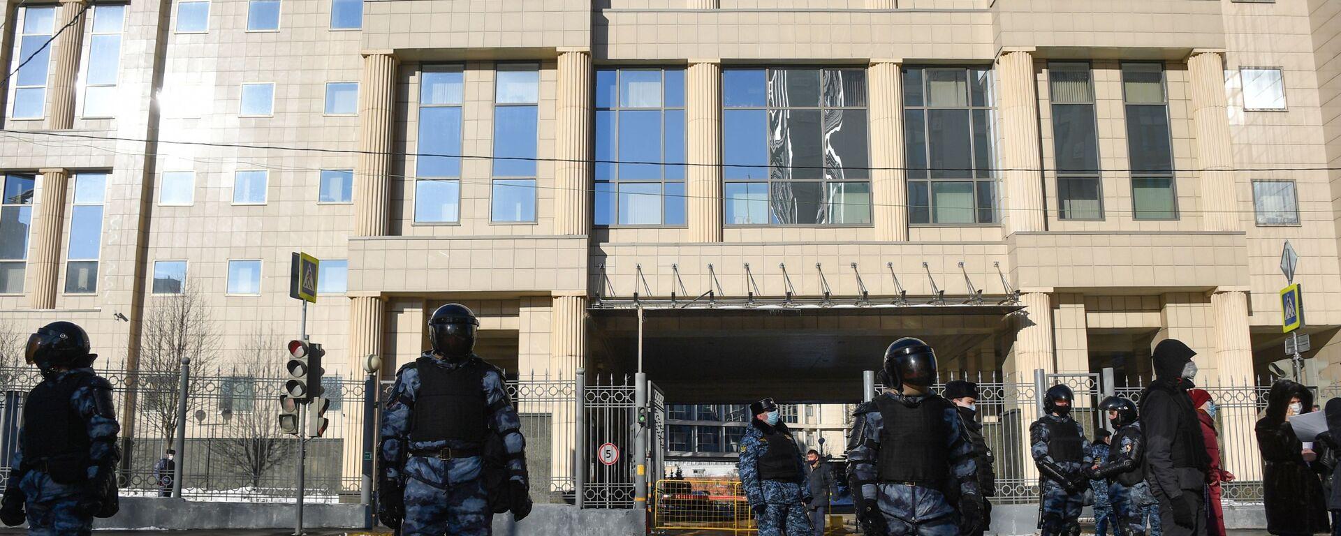 Ситуация у здания Мосгорсуда - Sputnik Армения, 1920, 21.07.2021