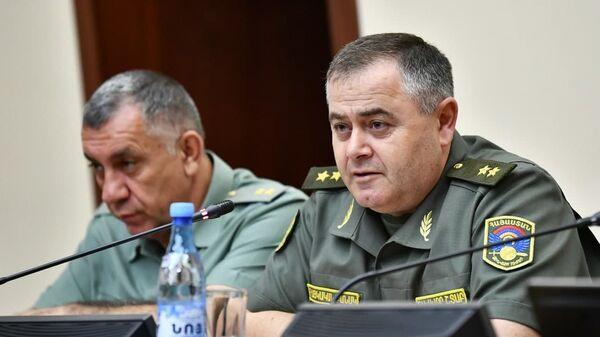 Начальник Генштаба ВС Армении, генерал-лейтенант Артак Давтян - Sputnik Армения