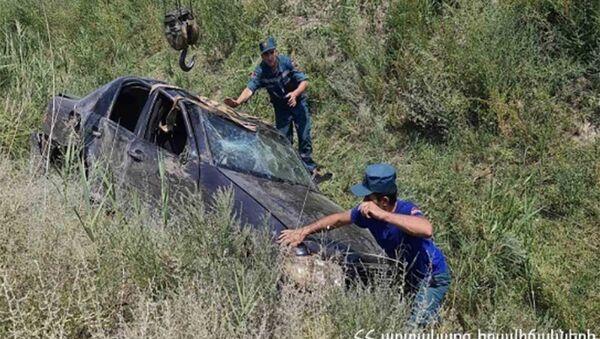 ДТП на автотрассе Ереван - Мегри  - Sputnik Армения