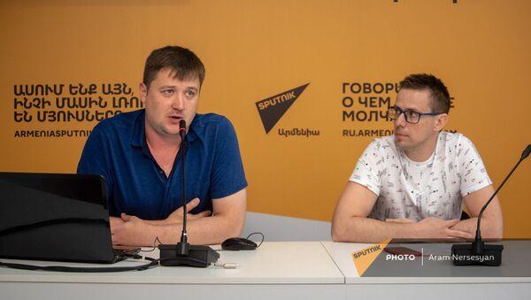 Борис Первушин и Евгений Косенко на программе Sputnik Pro - Sputnik Армения