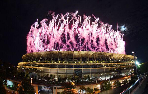 Հրավառություն Տոկիոյի Ազգային օլիմպիական մարզադաշտի վրա - Sputnik Արմենիա