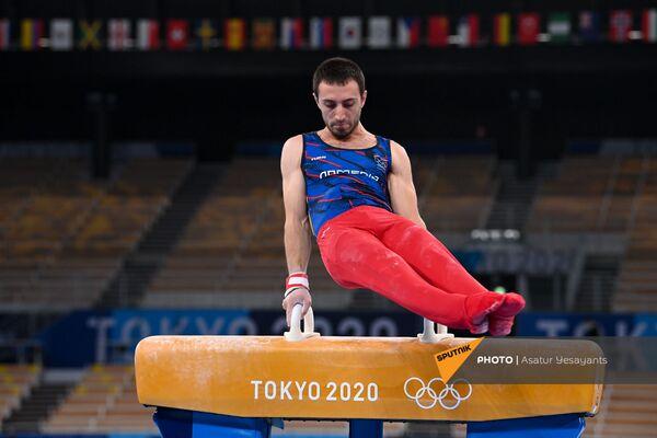 Второе выступление легкоатлета Артура Давтяна  - Sputnik Армения