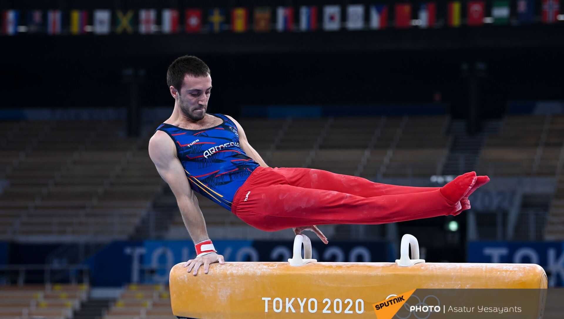 Второе выступление легкоатлета Артура Давтяна  - Sputnik Արմենիա, 1920, 24.07.2021