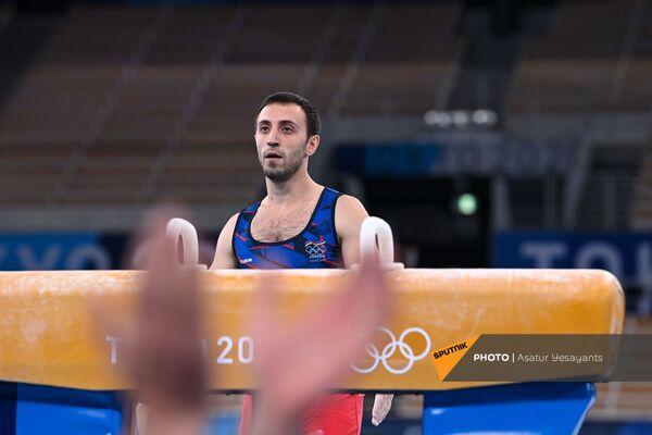 Артур Давтян после второго выступления - Sputnik Армения