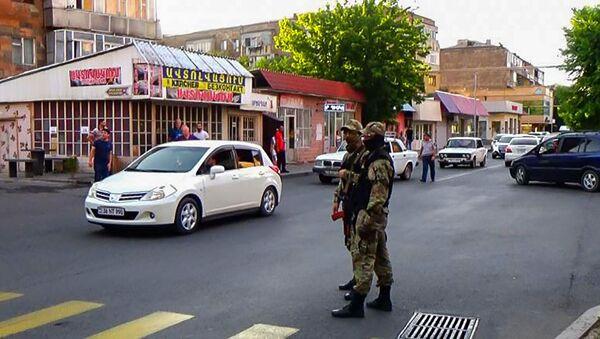 Усиленная служба полиции в Армавирской области - Sputnik Արմենիա