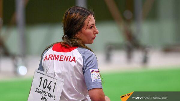 Стрелок из пневматического пистолета Эльмира Карапетян на XXXII летних Олимпийских играх в Токио - Sputnik Արմենիա