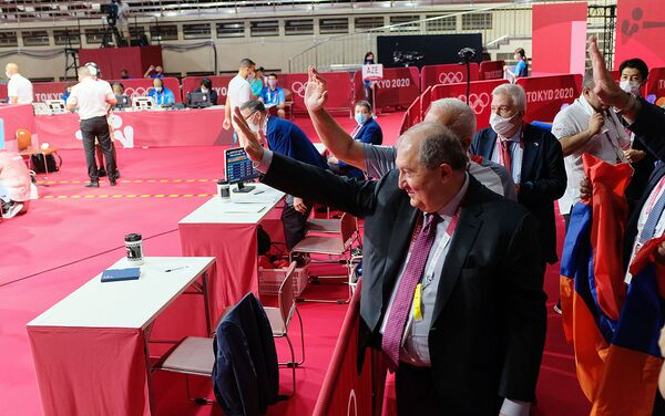 ՀՀ նախագահը Տոկիոյում անձամբ է շնորհավորել Բաչկովին - Sputnik Արմենիա