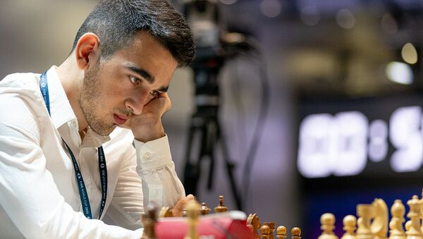 Айк Мартиросян на Чемпионате мира по шахматам в Сочи - Sputnik Արմենիա