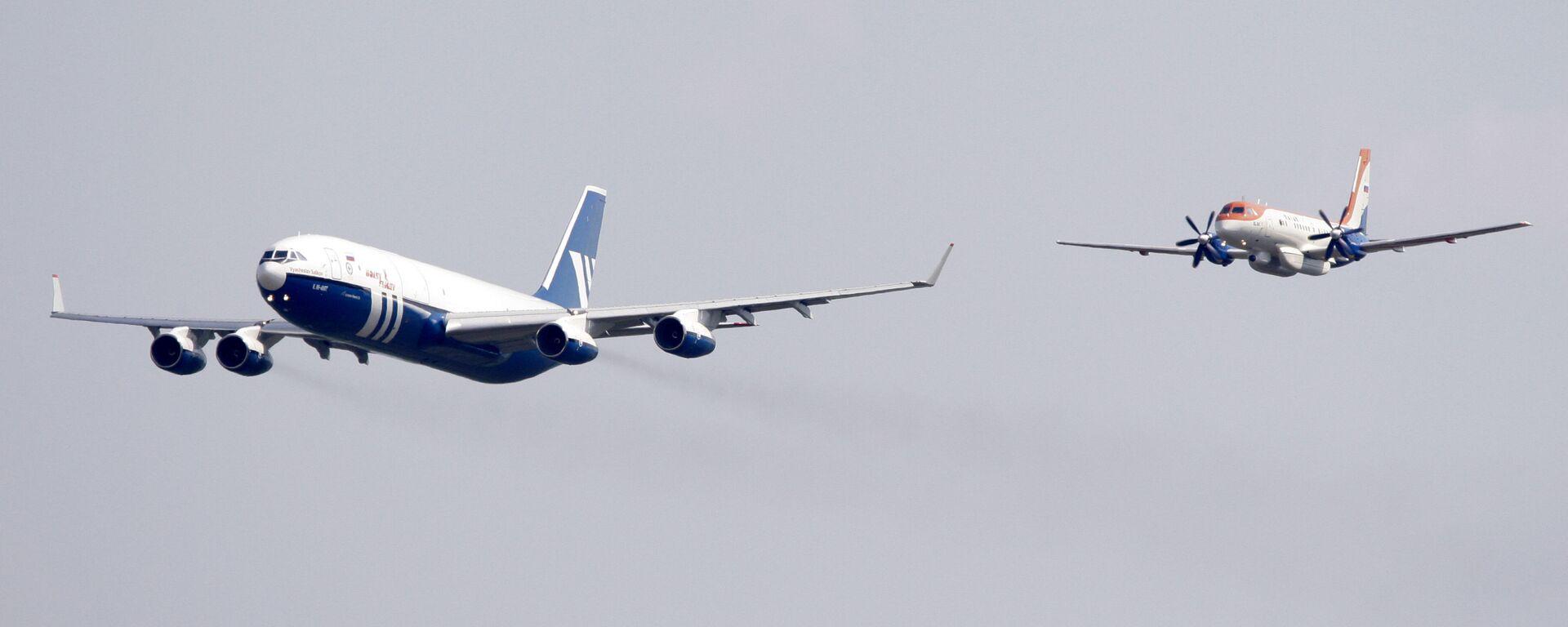 Самолеты Ил-96-400Т и Ил-114 - Sputnik Արմենիա, 1920, 27.07.2021