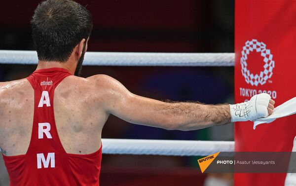 Կորյուն Սողոմոնյանի և Ջալալ Յաֆայի մենամարտը օլիմպիական խաղերում - Sputnik Արմենիա