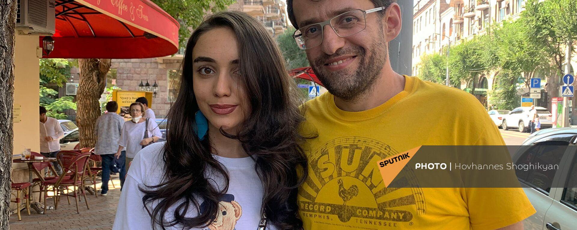 Լևոն Արոնյանն ընկերուհու՝ Անիտա Այվազյանի հետ։ - Sputnik Արմենիա, 1920, 26.07.2021