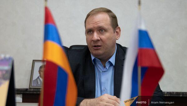 Генеральный директор ЗАО Южно-Кавказская железная дорога Алексей Мельников - Sputnik Армения
