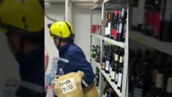 В Краснодаре енот забрался в алкогольный магазин - Sputnik Армения
