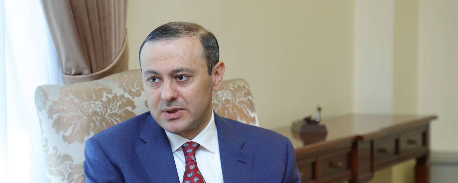 И.о. министра иностранных дел Армен Григорян - Sputnik Армения, 1920, 20.08.2021