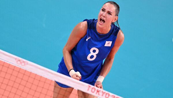 Олимпиада-2020. Волейбол. Женщины. Матч США - Россия - Sputnik Армения