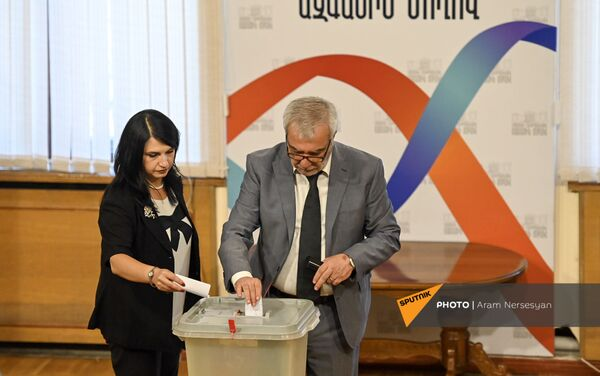 Выборы председателя НС (2 августа 2021). Еревaн - Sputnik Армения