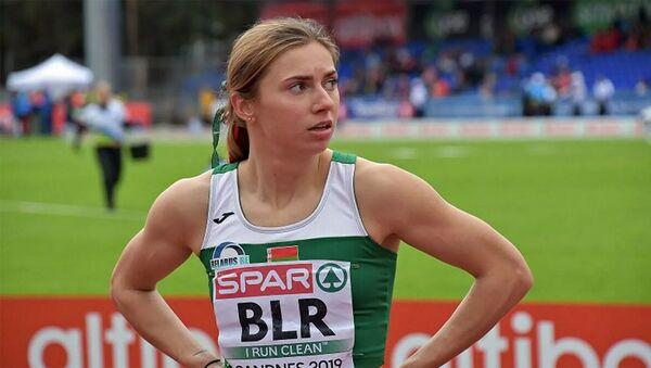 Белорусская спортсменка Кристина Тимановская - Sputnik Армения